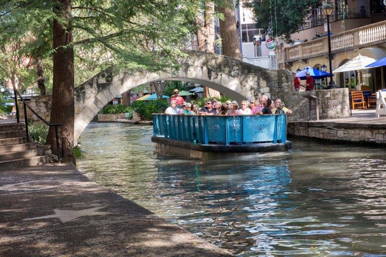 Torqeedo - San Antonio Riverwalk - photo © Steve Yeatts (Rhodes Comm)