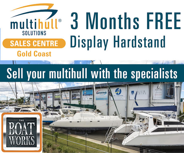 Multihull Solutions 3 Months Free September 2018 - 600x500