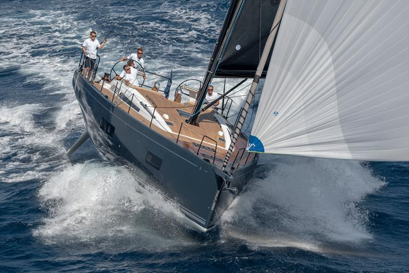 Beneteau's slick First Yacht 53 photo copyright Beneteau/Gilles Martin-Raget taken at  and featuring the Beneteau class