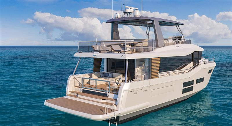 Grand Trawler 62 photo copyright Beneteau taken at  and featuring the Beneteau class