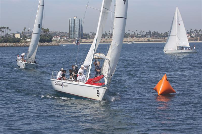2019 Long Beach Yacht Club Heroes Regatta photo copyright SeaToSkyImages: Mike Reed/Tom Heaton  taken at Long Beach Yacht Club and featuring the Catalina 37 class