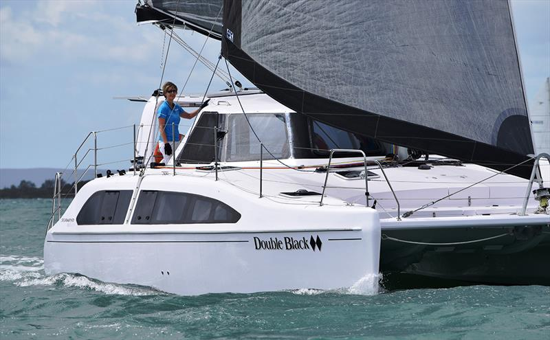 Seawind 1160 Lite 'Double Black Diamond' - 2018 Moreton Bay Multihull Regatta - photo © Multihull Central