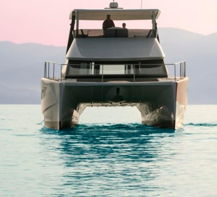 Nova Luxe 48' catamaran - photo © Marc Hawxhurst