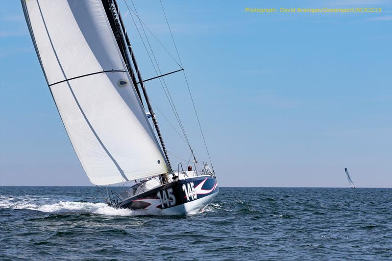 Normandy Channel Race 2019 photo copyright David Branigan / Oceansport taken at  and featuring the Class 40 class
