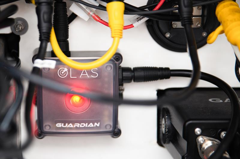 OLAS Guardian fitted inside a console - photo © Exposure Lights