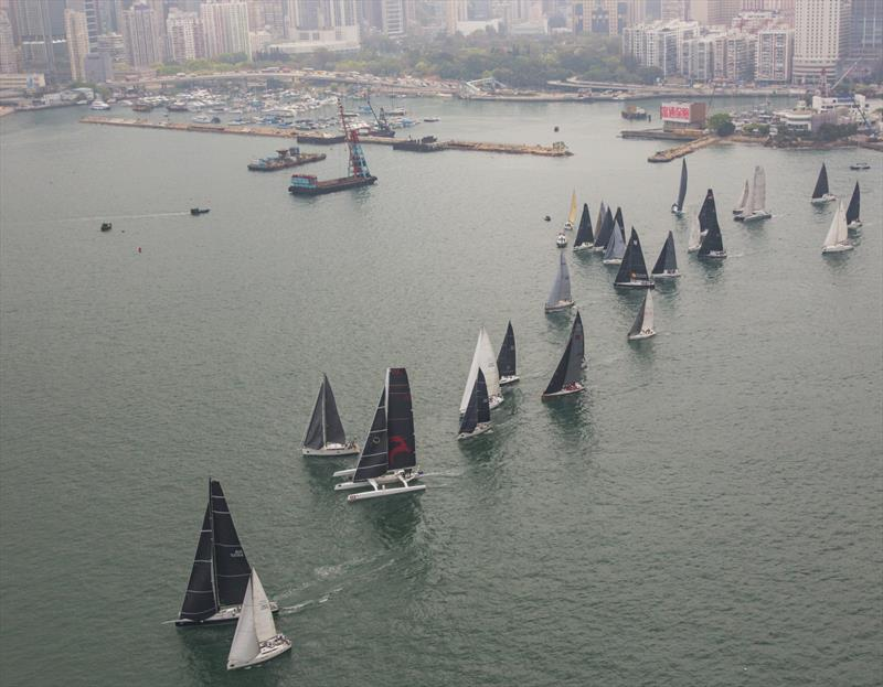 Rolex China Sea Race 2018 photo copyright Rolex / Daniel Forster taken at Royal Hong Kong Yacht Club and featuring the IRC class
