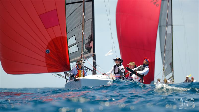 Watch me the Melges 24 being closely watched - Bartercard Sail Paradise 2020 - photo © Mitch Pearson / Surf Sail Kite