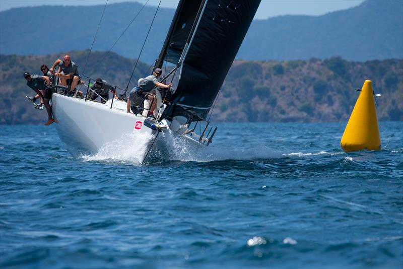 Mayhem remains dominant in A division at the end of Day 2 - CRC Bay of Islands Sailing Week - Day 2 - January 23, 2020 photo copyright Lissa Reyden taken at Bay of Islands Yacht Club and featuring the IRC class