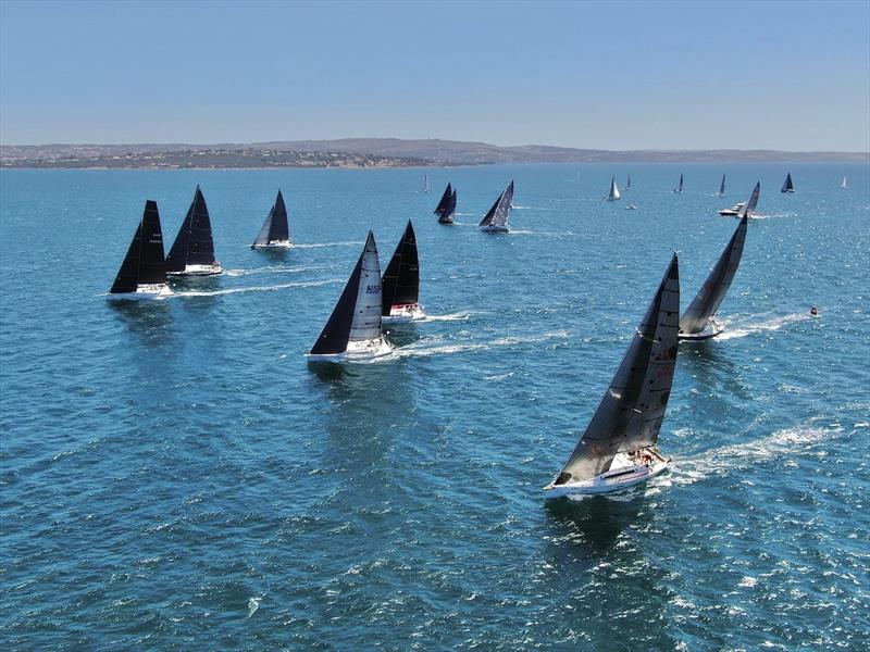 Division 2 starting in the Lincoln Week Regatta photo copyright Harry Fisher taken at Port Lincoln Yacht Club and featuring the IRC class