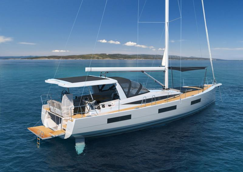 Jeanneau Yachts 60 - Leisure static transom open - photo © Jeanneau
