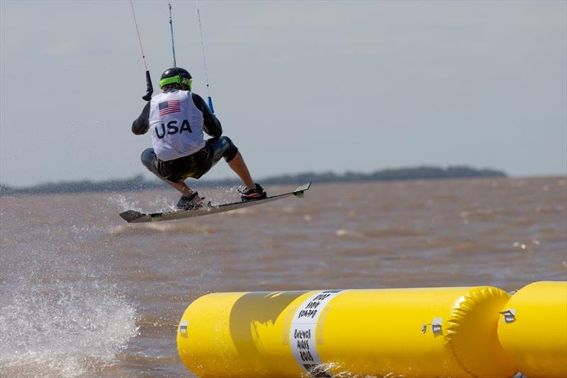 28c951514f55 Cameron Maramenides (USA) - Day 2 - Kiteboarding at the 2018 Youth Olympic  Games