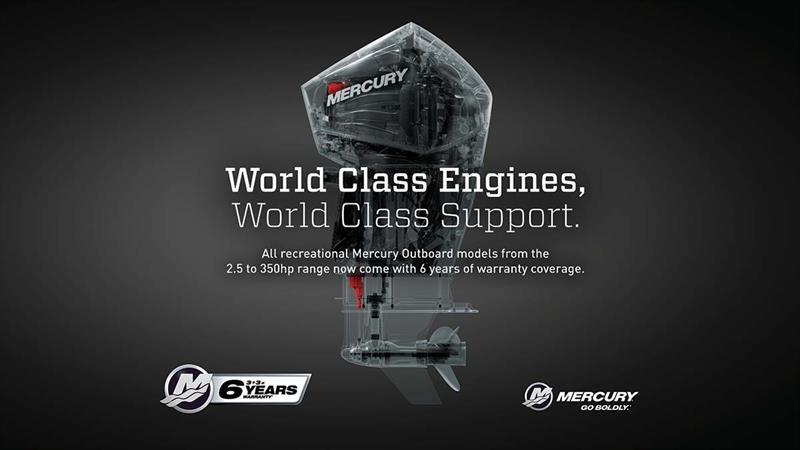 Mercury's new comprehensive Six Year Warranty