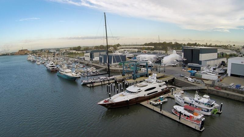 Rivergate Marina and Shipyard family, the AusShips Group - photo © Rivergate