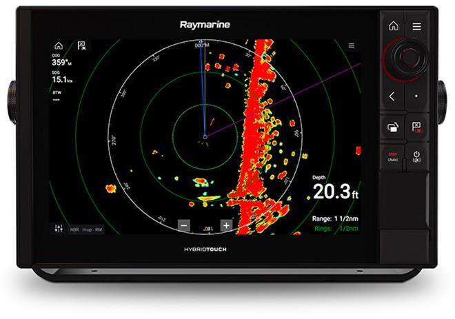 Raymarine Magnum™ high-performance open array radar  - photo © Liza Dukino