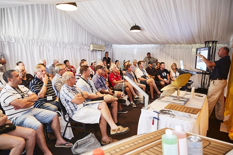 22 individual boating education seminars are on offer this year at the Riviera and Belize Festival of Boating from offshore seamanship to advanced weather forecasting and navigating at night. - photo © Riviera Studio