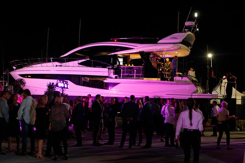 Galeon Yachts launch - photo © Alexander Marine Australia