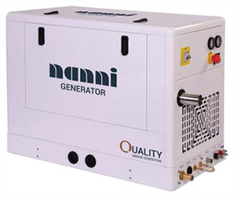 Nanni `Quiet and efficient generators from 5lw to 35kw` - photo © Nanni Diesel