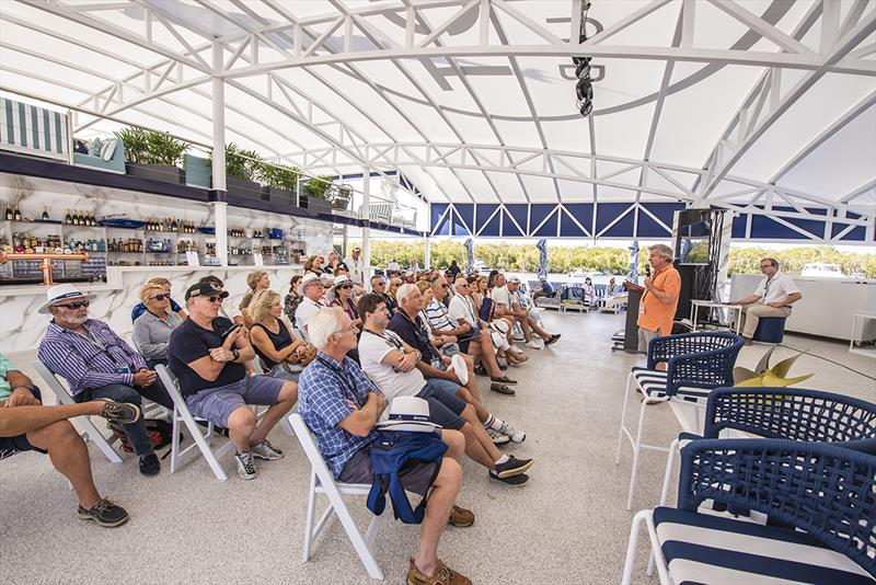 The Riviera Festival of Boating featured over 30 individual boating education and inspirational workshops and seminars. - photo © Riviera Studio