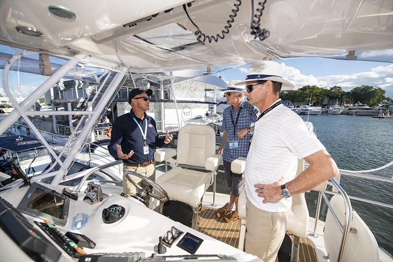 The Riviera Festival of Boating offers a comprehensive range of on-water educational workshops photo copyright Riviera Studio taken at  and featuring the Marine Industry class