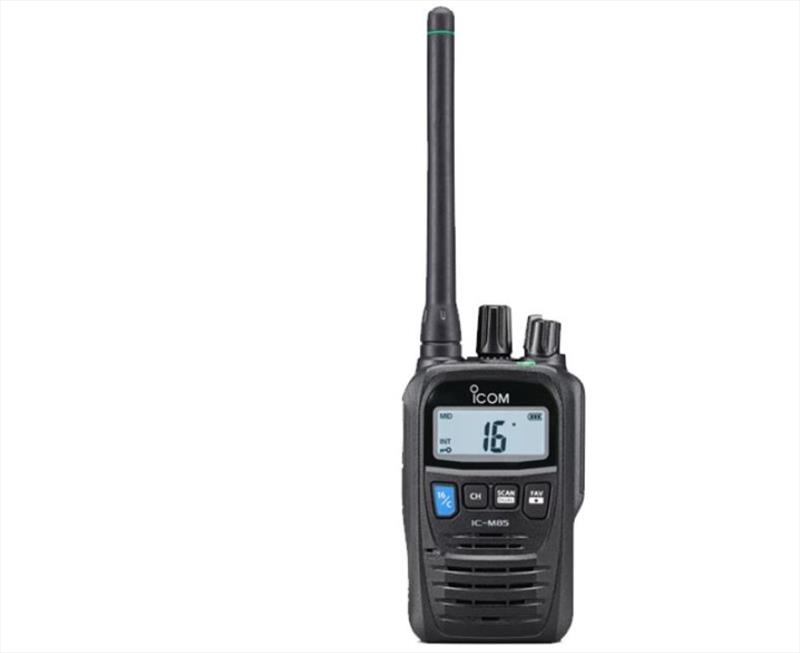 Icom launches the IC-M85E in Australia - photo © Icom