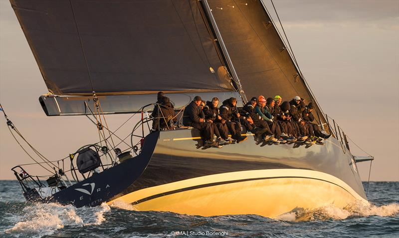 Vera on her way to winning the 151 Miglia-Trofeo Cetilar overall. - photo © Studio Borlenghi / International Maxi Association