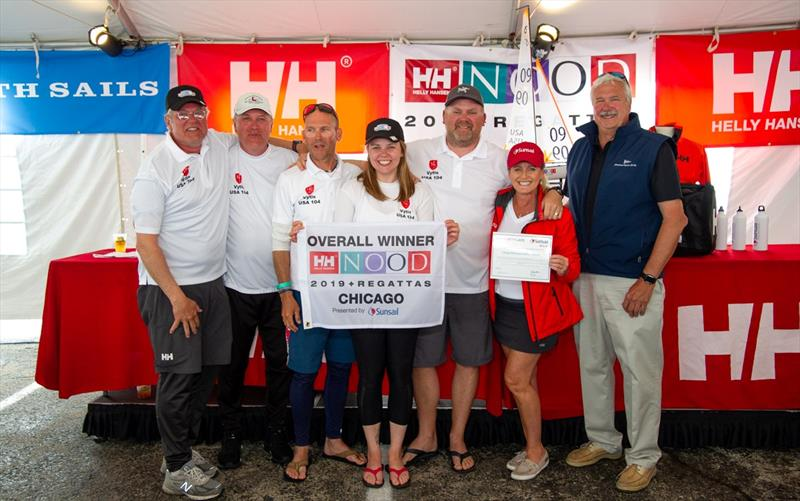 Persistent rain and fog in Chicago prevented a third and final day of racing, but celebrations continued ashore.- Helly Hansen NOOD Regatta Chicago - photo © Paul Todd / www.outsideimages.com