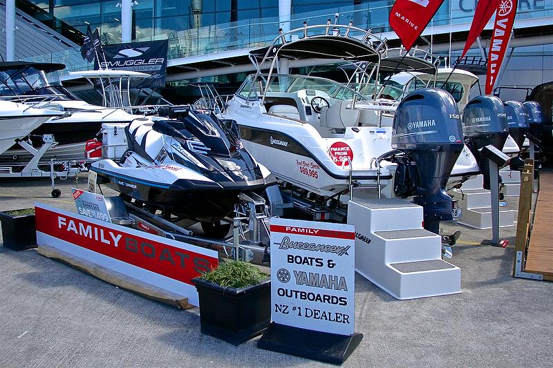 Yamaha - Auckland On the Water Boat Show - Day 4 - September 30, 2018 - photo © Richard Gladwell