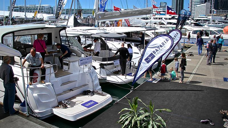 Bavaria afloat - Auckland On the Water Boat Show - Day 4 - September 30, 2018 - photo © Richard Gladwell