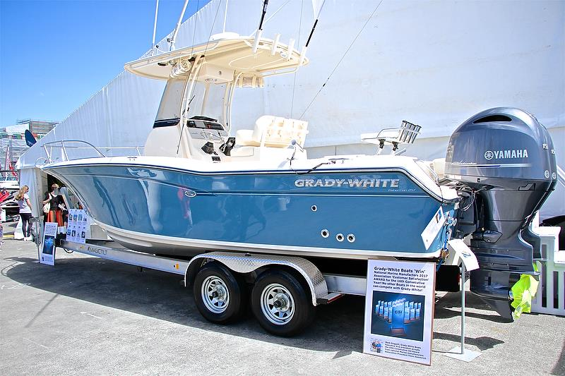 Grady-White Boats (USA) from Marine Imports - Tairua - Auckland On the Water Boat Show - Day 4 - September 30, 2018 - photo © Richard Gladwell