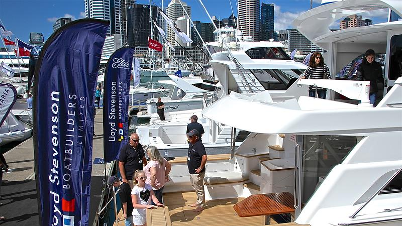 Auckland On the Water Boat Show - Day 4 - September 30, 2018 - photo © Richard Gladwell