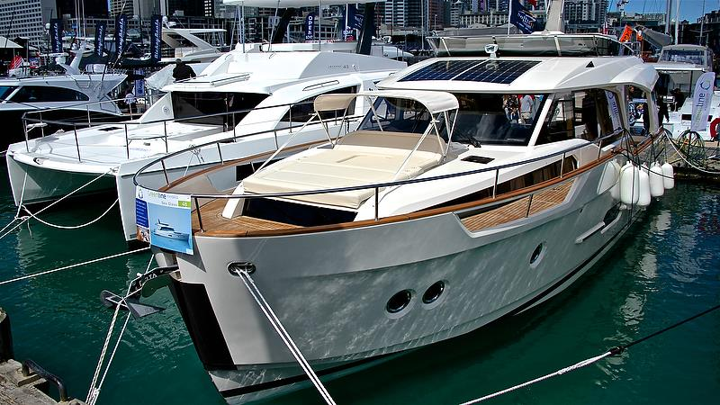 Greenline - hybrid boats - Auckland On the Water Boat Show - Day 4 - September 30, 2018 - photo © Richard Gladwell