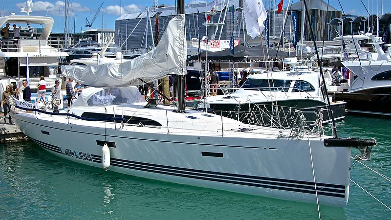The well raced Lawless from X-Yachts - Auckland On the Water Boat Show - Day 4 - September 30, 2018 - photo © Richard Gladwell