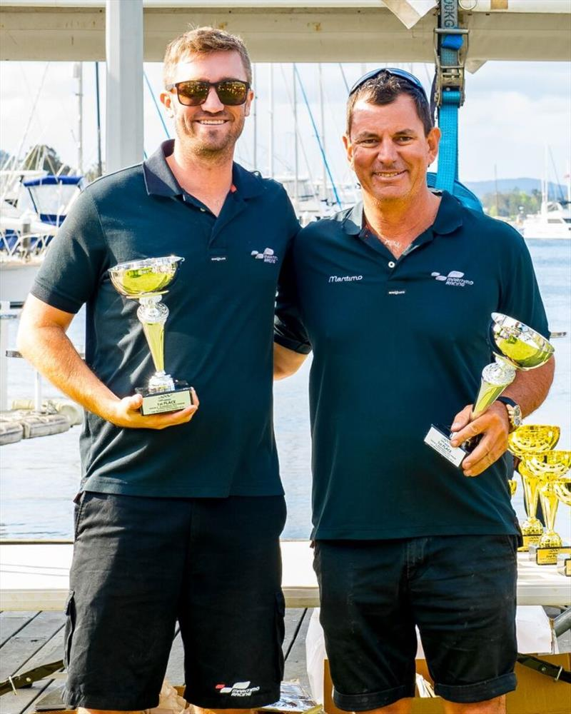 Maritimo Racing - Tom Barry-Cotter (left) and Steve Jellick (right) - photo © Maritimo