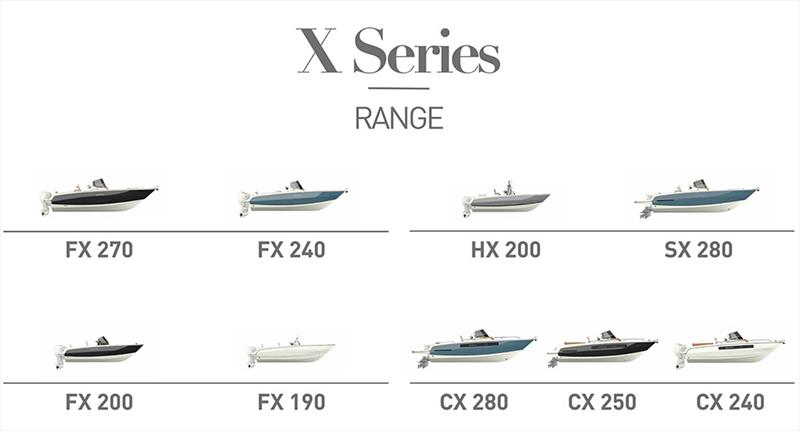 X Series Range - photo © Sand People