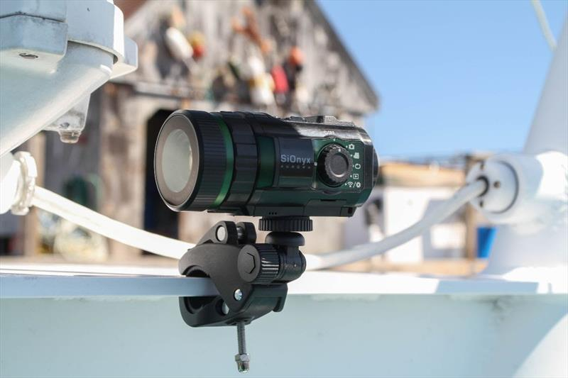 SiOnyx Night Vision Camera on Aurora Remote Mount - 2019 Pacific Sail & Power Boat Show - photo © Mary Lou Thiercof