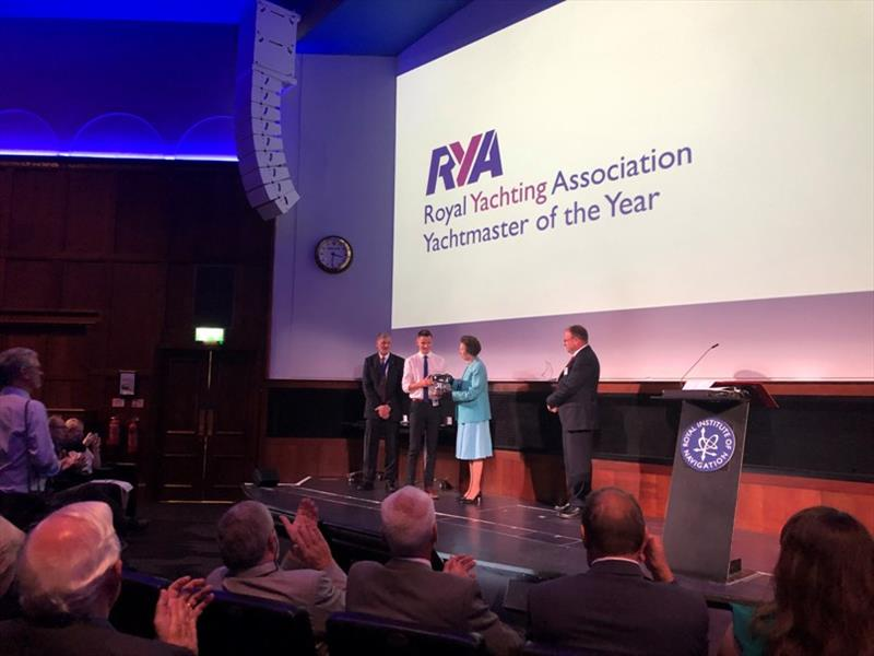 Lewis Haig RYA Yachtmaster of the Year 2018 - photo © Becky Gilbert-Wood