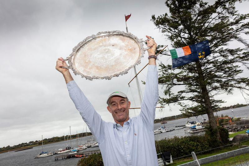 Peter Kennedy wins the 2018 Irish Sailing All Ireland Championships photo copyright David Branigan / www.oceansport.ie taken at Strangford Lough Yacht Club
