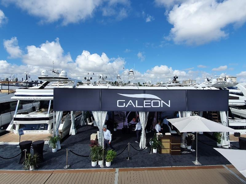 Galeon at 2019 Fort Lauderdale International Boat Show - photo © Alexander Marine Australia