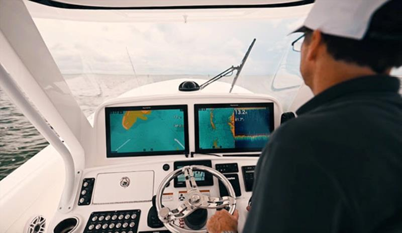 Raymarine CHIRP and RealVision 3D sonar - photo © Raymarine