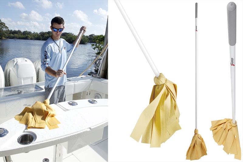 Ces nouvelles vadrouilles ne rayeront pas le pont de votre bateau !
