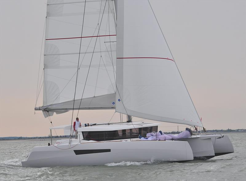 New NEEL 47 trimaran - photo © Olivier Blanchet