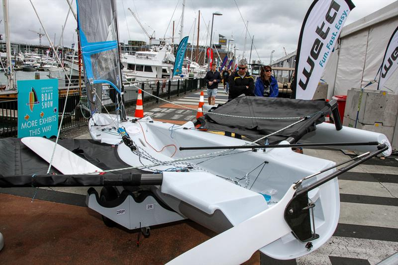 Weta - Auckland On the Water Boat Show - Final day - October 6, 2019 - photo © Richard Gladwell