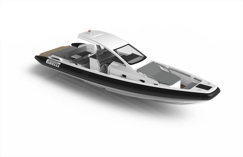 Tecnorib presents new Pirelli 42 photo copyright Tecnorib taken at  and featuring the Power boat class