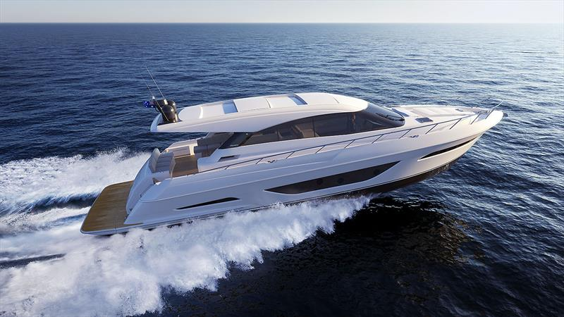 Underway with the new Maritimo X60. - photo © Maritimo