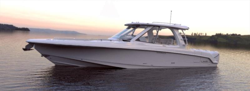 Boston Whaler 380 Realm photo copyright Boston Whaler taken at  and featuring the Power boat class