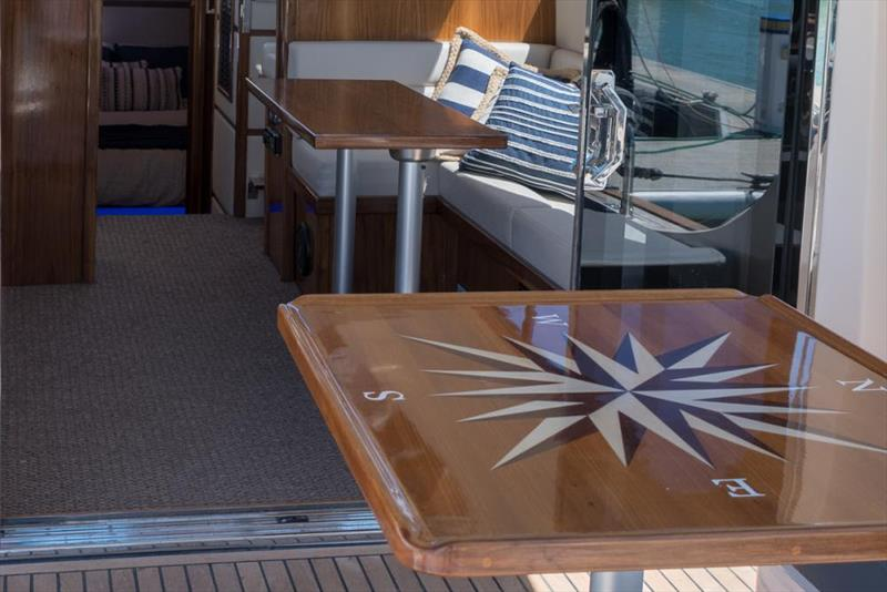 Hudson Bay 39 - photo © Clipper Motor Yachts