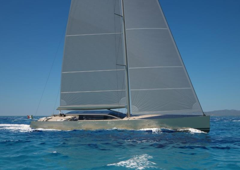 42m S/Y E-volution photo copyright Perini Navi taken at  and featuring the Power boat class