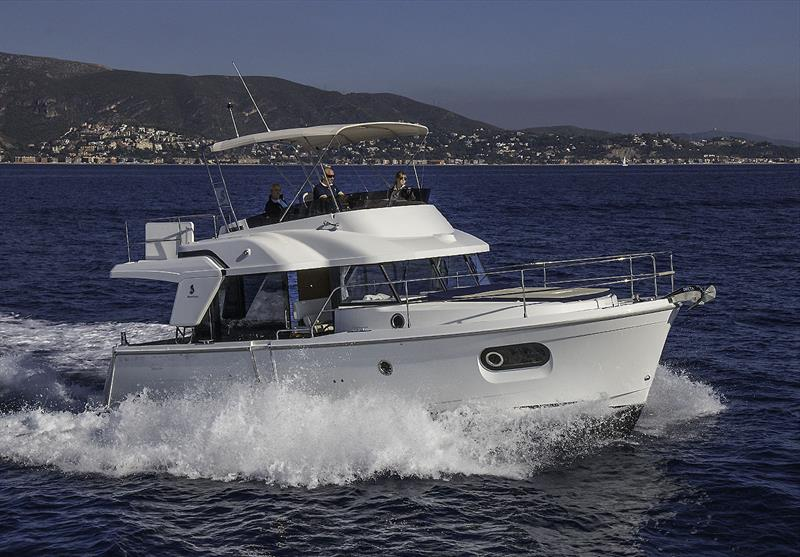 Beneteau Swift Trawler 35 on debut at Port Ginesta, Barcelona, Spain - photo © John Curnow