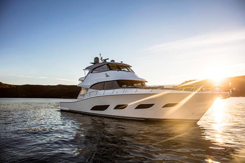 Riviera 72 Sports Motor Yacht Flybridge - photo © Riviera Australia