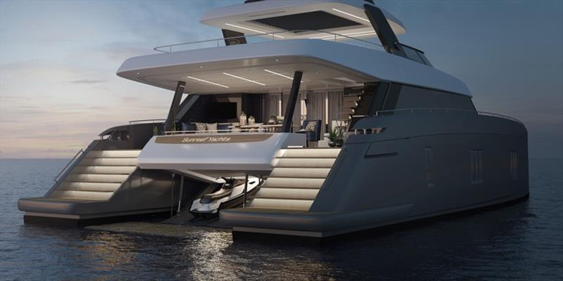 80 Sunreef Power - photo © Sunreef Yachts